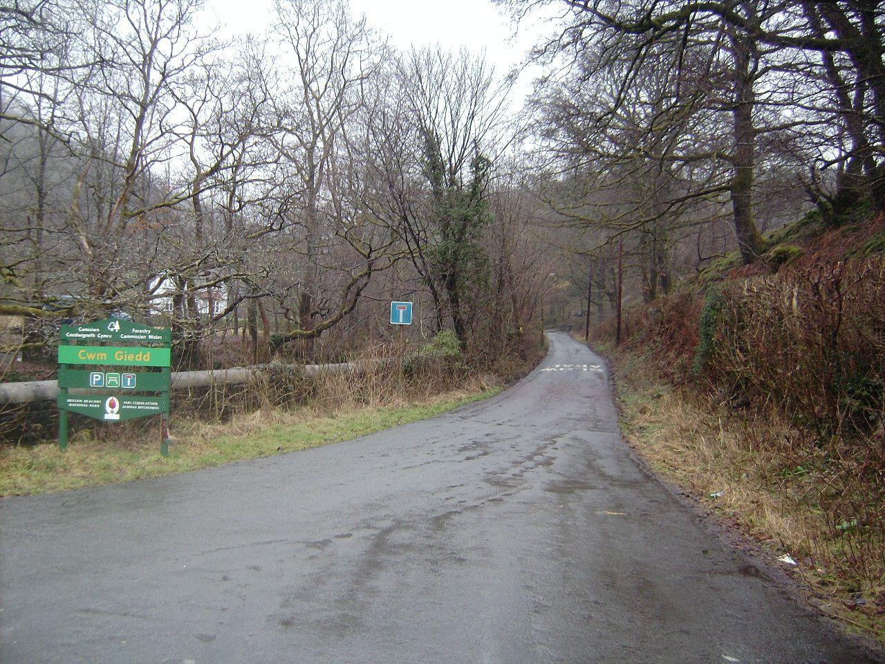 Cwmgiedd picnic area